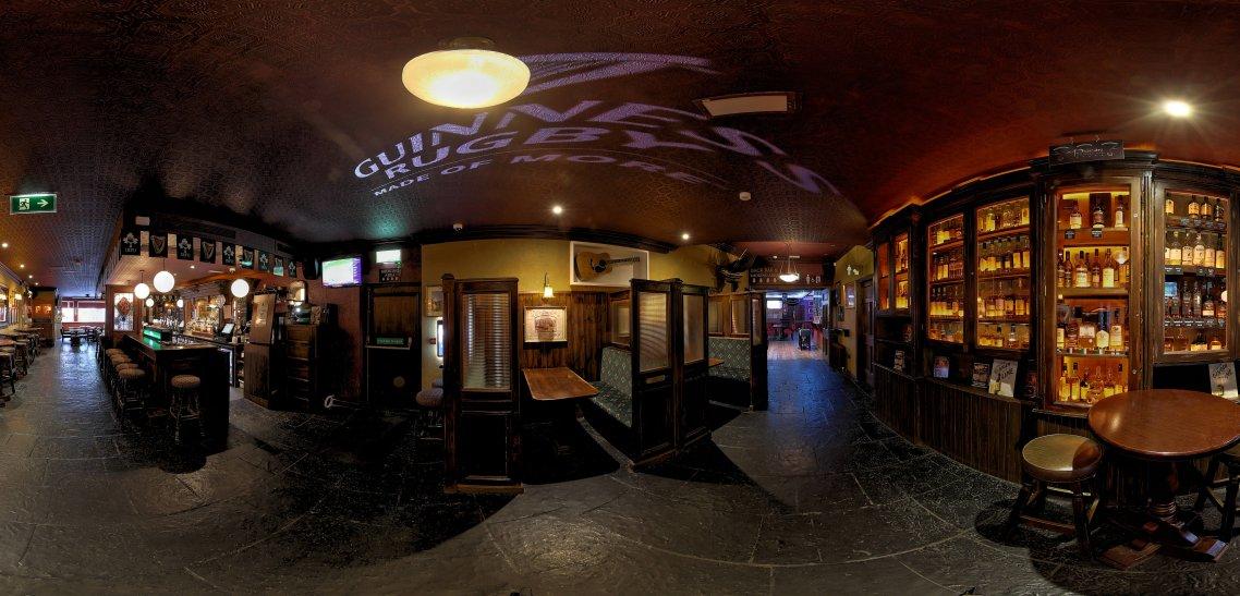 An Pucan Pub Bar Galway Panorama