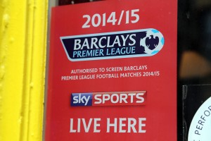 An Pucan Pub Galway shows sky sports premiership football_0588