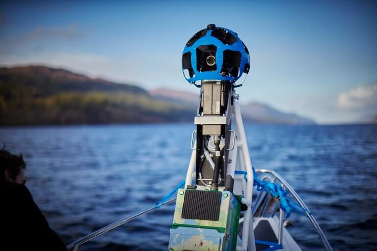 Google Street View Camera adapted for nautical use