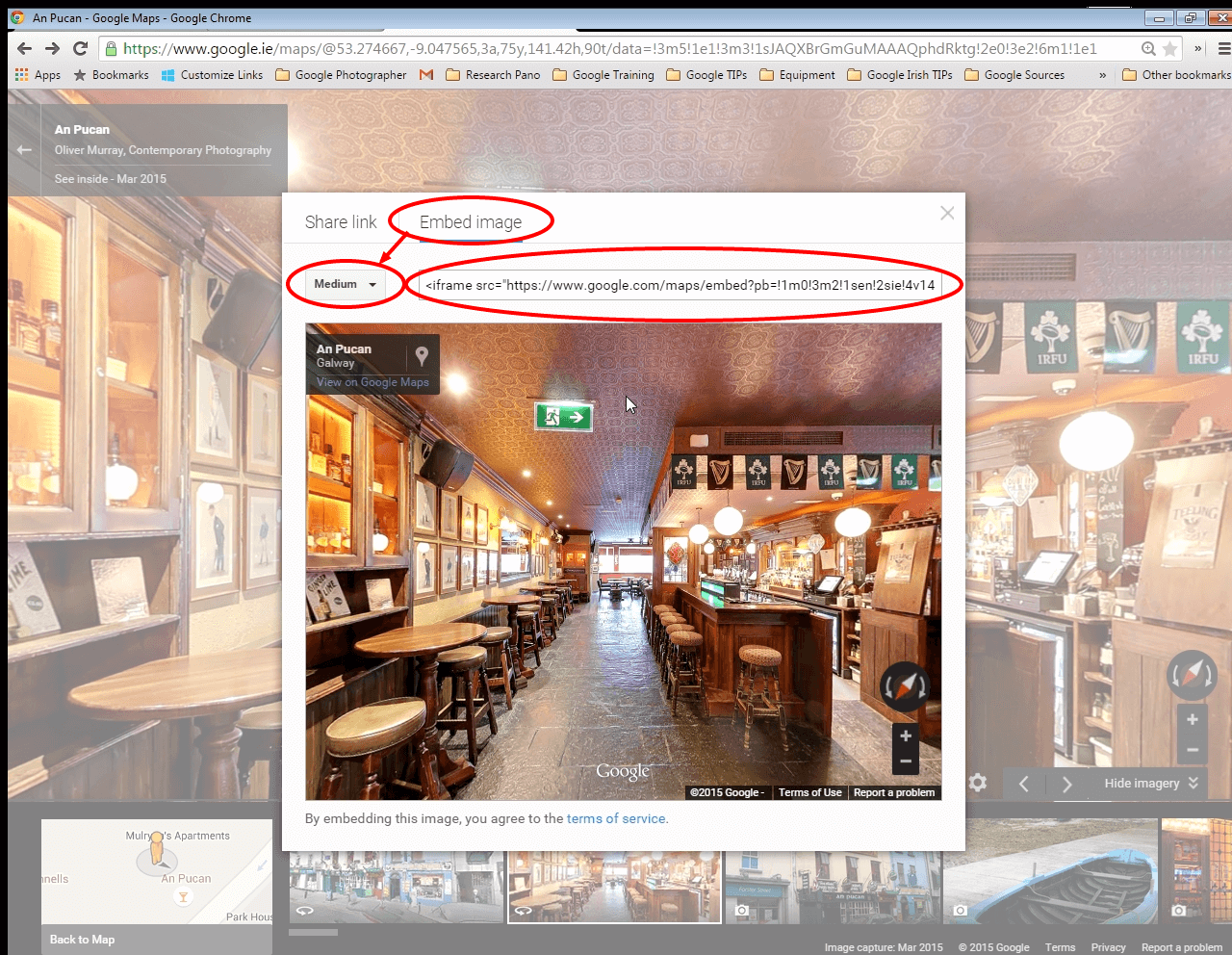An Pucan Pub Galway Embed in Website