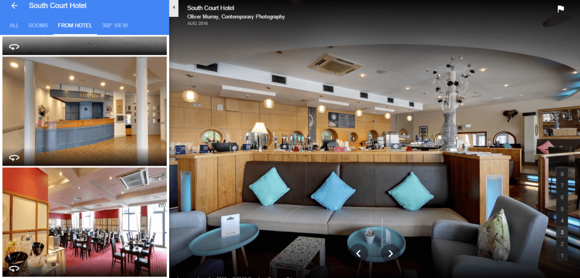google photo search results from hotel tab south court limerick