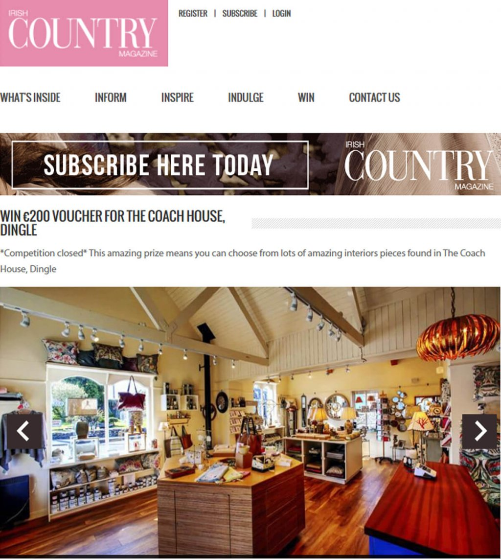 win_€200_voucher_for_the_coach_house_www.irishcountrymagazine